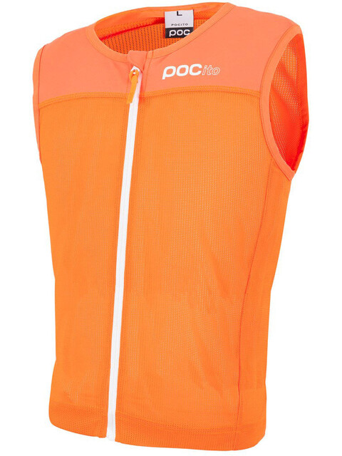 POC POCito VPD Spine Vest Juniors Fluorescent Orange
